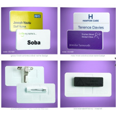 Anti Microbial Name Badges
