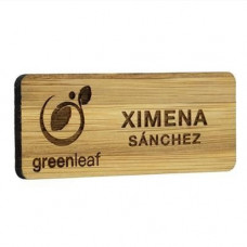 Bamboo Name Badge