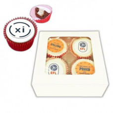 4 x Branded Cupcakes