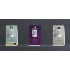 Desktop Bespoke Sanitising Gel Dispenser