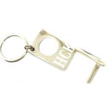 Hygiene Hook Metal Keyring