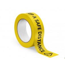 Keep a Safe Distance Tape