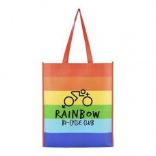 Rainbow Shopper Bag