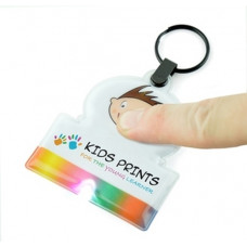 Rainbow Light Up Keyring