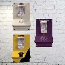 Wall Mounted Bespoke Sanitising Gel Dispenser